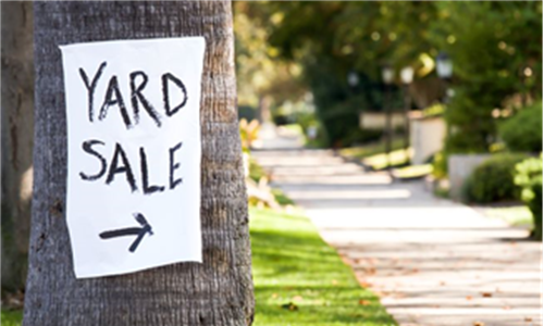 Miracle Fund Yard Sale 2019